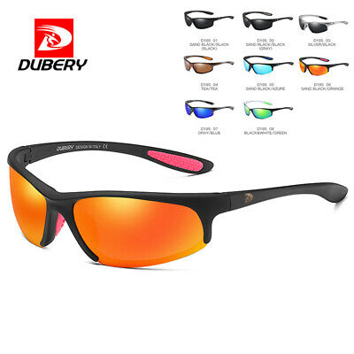 DUBERY Mens Vintage Polarized Sunglasses Driving Riding Eyewear UV400 Shades Hot