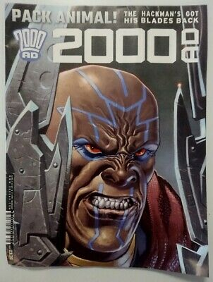 2000 AD 'prog 2105' Comic Book (2018), Judge Dredd and many other stories