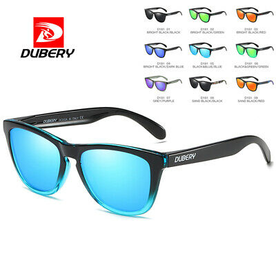 DUBERY Mens Womens Vintage Polarized Sunglasses Driving Sport Eye Glasses Shades