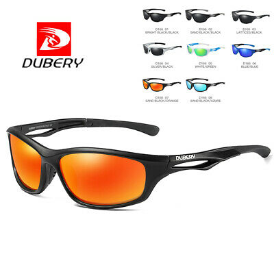 DUBERY Men Vintage Polarized Sunglasses Driving UV400 Eyewear Sport Shades Cool