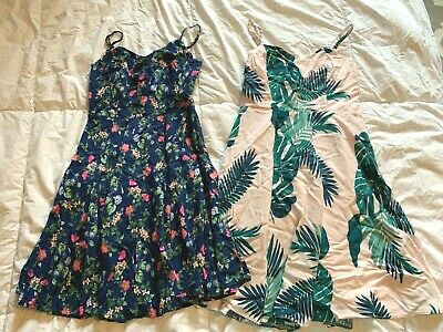 Old Navy Lot of 2 Floral Sundress Dress Size S
