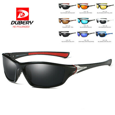 DUBERY Mens Vintage Polarized Sunglasses Driving Fishing Outdoor Eyewear Shades