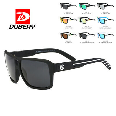 DUBERY Men Vintage Polarized Sunglasses Driving Shades Eyewear Women Eye Glasses
