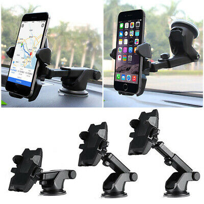 360° Rotatable Car Windscreen Suction Cup Phone Holder Mount Bracket Stand UK