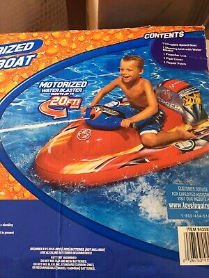 Banzai Motorised Inflatable  Speed Boat