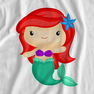 Mermaid Adventure | Red Mermaid | Iron On T-Shirt Transfer Print