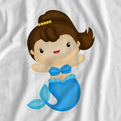 Mermaid Adventure | Blue Mermaid | Iron On T-Shirt Transfer Print