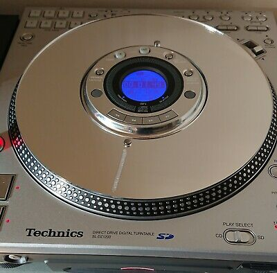 Technics SL-DZ1200 High Performance Slip Discs (Mirror Finish - One Pair)