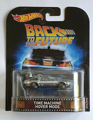 Hot Wheels Retro Entertainment Back To The Future Time Machine Hover Mode