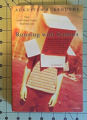 Running with Scissors: A Memoir by Burroughs, Augusten- pre owned good
