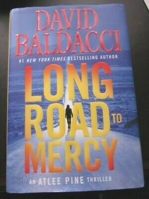 Long Road to Mercy Hardcover Book An Atlee Pine Thriller David Baldacci