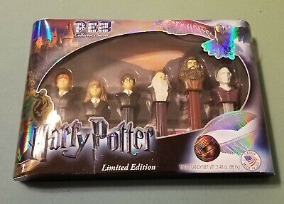 2015 PEZ Harry Potter Limited Edition Collector's Series Set Of 6 NIB