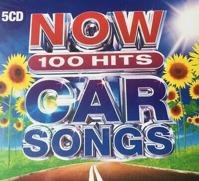 NOW 100 Hits Car Songs 5CD Box Set (New & Released On Friday 12 July)