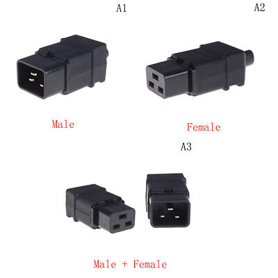 Rewirable IEC C19 Connector C19 Socket Power Cord Adapter Connector FEH
