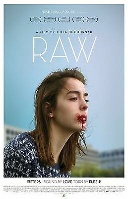"Raw movie poster (2017)  -  11"" x 17"" inches"