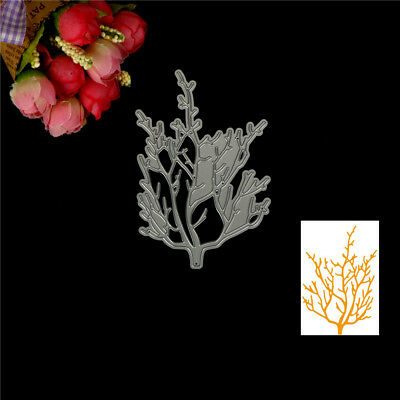 DIY Branch Design Metal Cutting Die For Scrapbooking Album Paper Cards  WG UP
