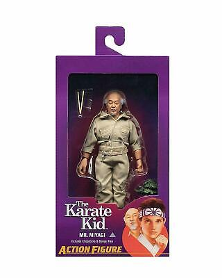 "NECA The Karate Kid Mr. MIYAGI 8"" Clothed Action Figure NEW 2019"