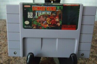 Donkey Kong Country 1 DK Super Nintendo SNES Original Authentic Game!