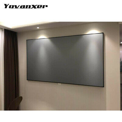 Projector Screen 60 72 100 120 133inch Projection Screen For Xgimi H1 H2 H1s Z6
