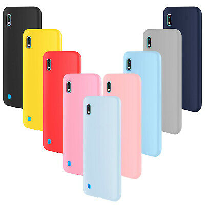 COVER Custodia Morbida SOFT GEL Silicone SLIM per Samsung Galaxy A10
