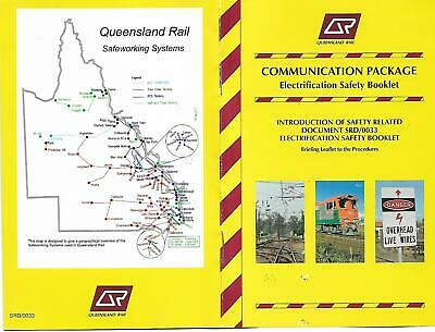QR 1999 Electrification Safety Communication Package Booklet 5 Pages