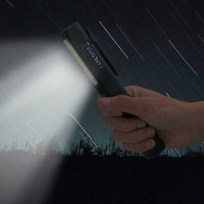 2 in 1 USB Rechargeable COB LED Camping Work Inspection Light 60000LM Torch BE