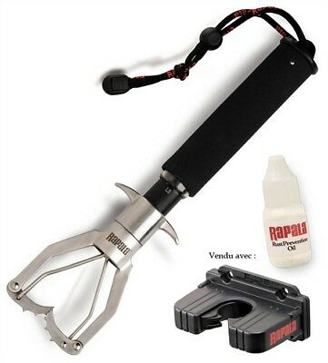 Rapala 60 Lb Lock ' N Weigh High Grade Stainless Steel 60Lb Fish Scale Brand New
