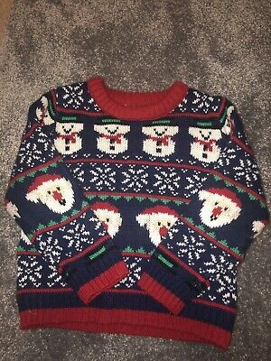 Boys Christmas Jumper Mothercare 12-18months
