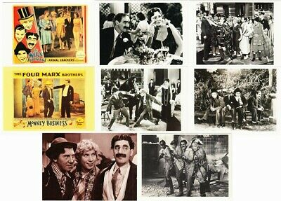 The Marx Brothers Movies Lot of 13 Postcards Groucho Harpo Chico Marx