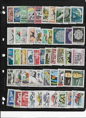 Hungary stamp collection lot 1