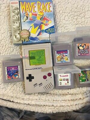 1989 Original Nintendo GAME BOY GAMEBOY DMG-01 (6) Games Lot - Working!
