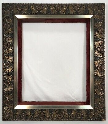 Large Antique Late 19th C Aesthetic Movement Frame 20 x 24 Opening