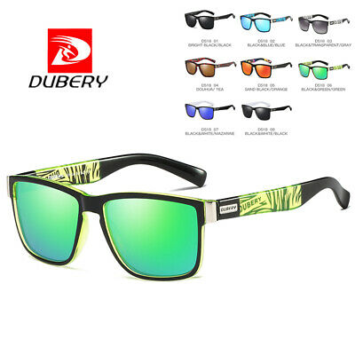 DUBERY Mens Womens Classic Vintage Polarized Sunglasses Driving Shades Eyewear y