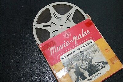Wild Horse and the Little Brave - vintage 8mm film