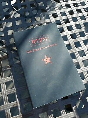 Rtfm Red Team Field Manual Ben Clark Paperback.