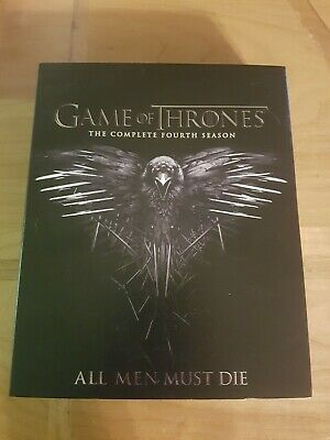 Game of Thrones: Season 4 (Blu-ray Disc, 2016, 4-Disc Set, SteelBook)