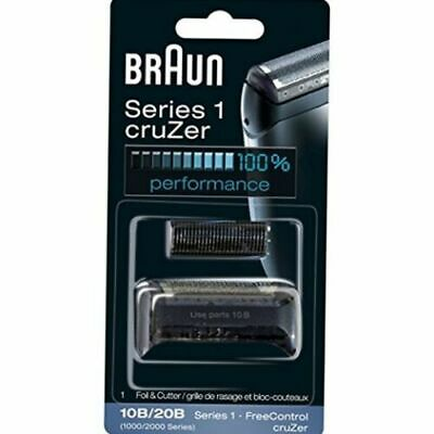 Braun 10B/20B Replacement Foil and Cutter Blades Shaver 190 190s-1, 190s, 1775