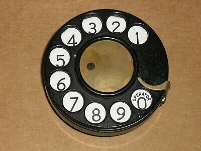 Western Electric #2Ab Telephone Dial Dated 3Rd Quarter 1939 102 Candlestick Part