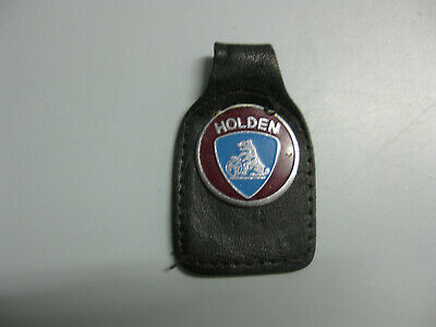 Vintage early GMH HOLDEN LEATHER KEY FOB Car auto collectable Man Cave