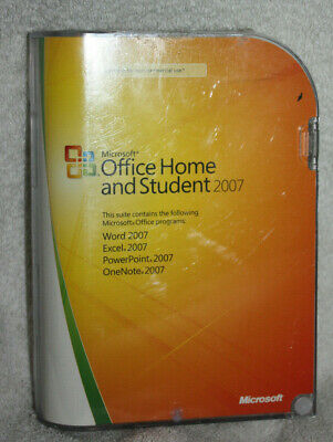 Microsoft MS Office 2007 Home and Student Licensed for 3 PCs