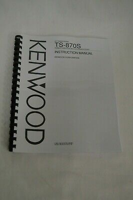 Kenwood TS-450S//690S Service /& Instruction Manuals ***PRINTED ON 32 LB PAPER***