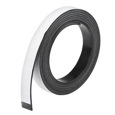 Dry Erase Flexible Magnetic Strip 19/32 Inch x 6.5 Feet Magnetic Tape Sticky