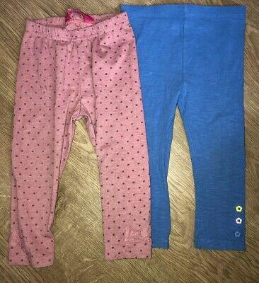 Tu Pink Baby Leggings With Bow