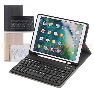 Detachable Bluetooth Keyboard Leather Case for Apple iPad Air 3 2019, Pro 10.5