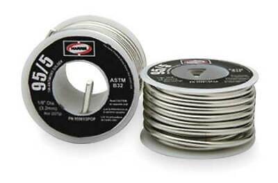 HARRIS 95561/2POP Solid Wire Solder,Lead Free,452 to 464 F