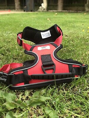 Bunty Soft Padded Comfortable Fabric Dog Puppy Pet Adjustable Outdoor Harness.