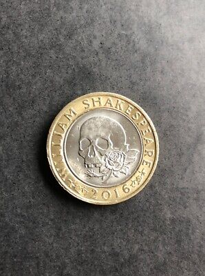 £2 coin William Shakespeare Tragedies 2016 two pound coin