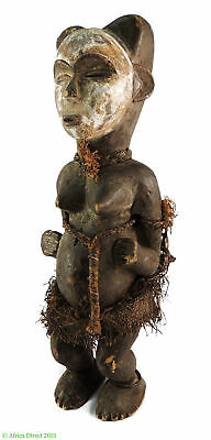 Punu Standing Female Gabon African Art 17 Inch SALE WAS $290.00