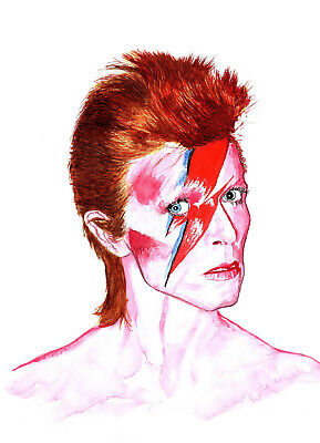 DAVID BOWIE MODERN CLASSIC SUPERBLY ICONIC CANVAS ART PRINT PICTURE Art Williams
