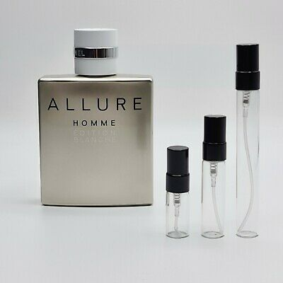 ALLURE HOMME EDITION BLANCHE EDP by Chanel: 2ml-5ml-10ml Sample Spray Atomiser